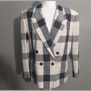 Glenbrooke Women's Plaid Jacket EUC